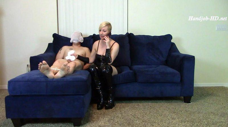 Panty HJ Gag & Head 2 Cum Panty in Mouth – Brittany Lynn