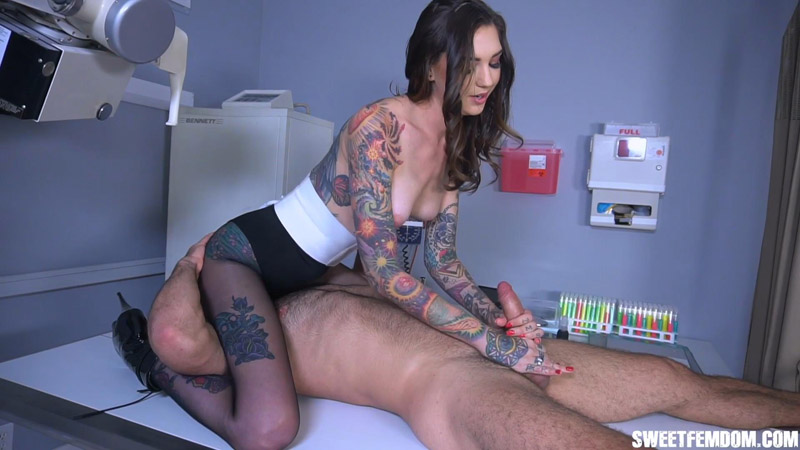 Sensual and Painful Edging Experiments with Rocky Emerson - She Owns Your Manhood
