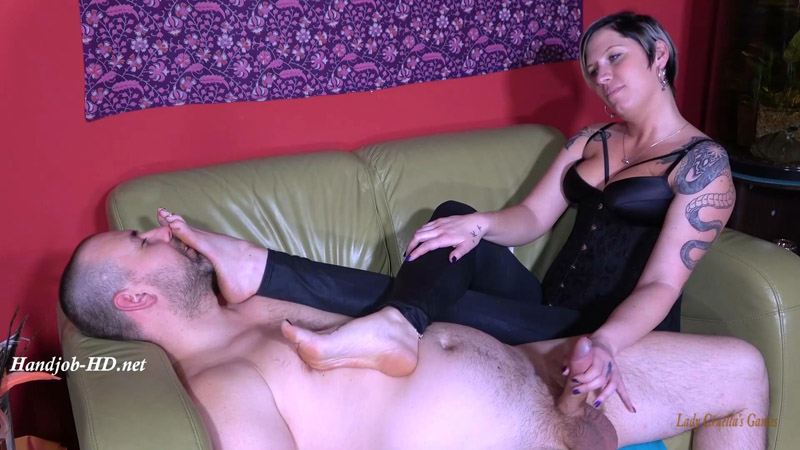 Unlucky Husband – You can cum only under my feet! – Lady Cruellas games