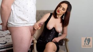 What a Pity! I Ruined my Hubby Twice for Emptying His Balls – Dame Olga's Fetish Clips