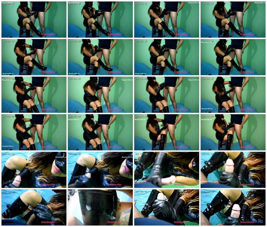 Handjob With Cum In Leather Boots With Leather Gloves By Fetishwife – FetishesFor_scrlist