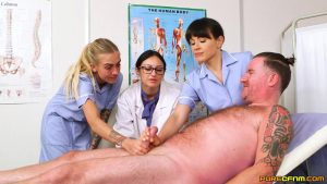 Nurses Do It Better – Pure CFNM – Cassie Clarke, Lucy Love, Tamara Phillips