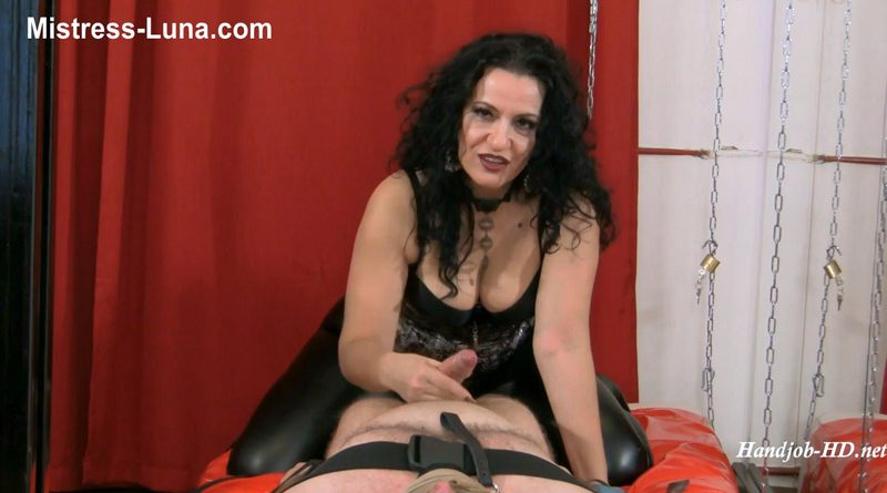 Painfull orgasm – Mistress Luna