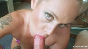 Slurping The Cum From Your Cock – Aglaea Productions – Mistress E