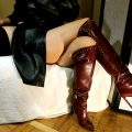 Toe tapping in boots, handjobs – HJ Goddess TEASE