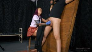Anette the schoolgirl – Cruel Anettes Fetish Store