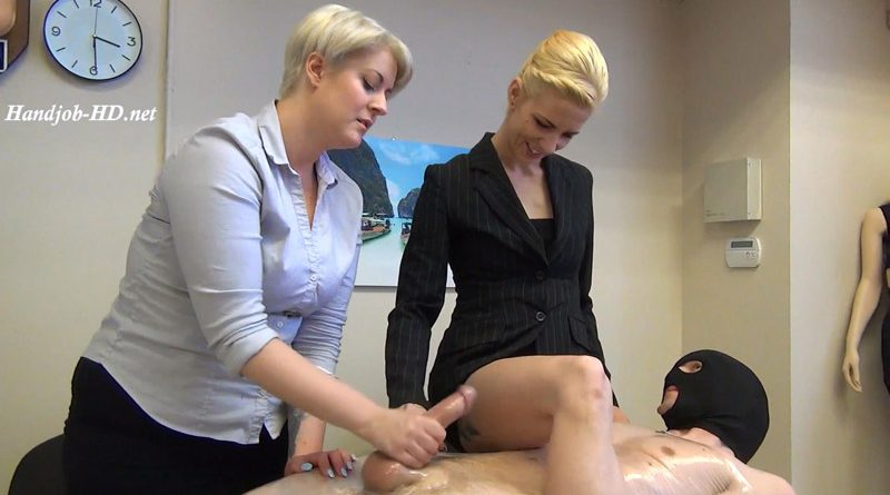 Meanjobs 75 Cum On Sasha's Leg!!! – Bossy Girls