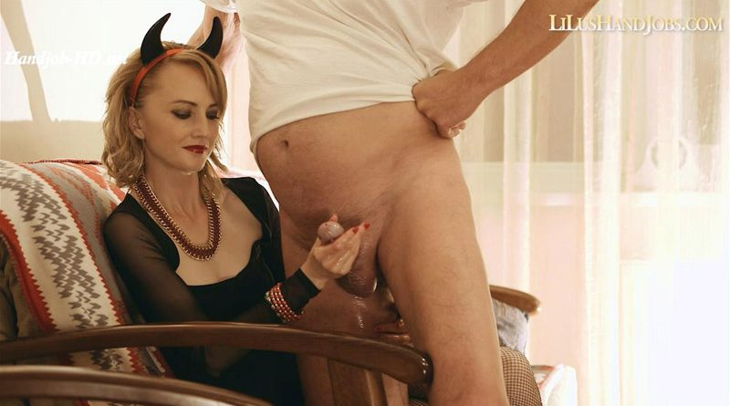 Orgasm Denial from HandJob Devil LiLu – I JERK OFF 100 Strangers hommme HJ