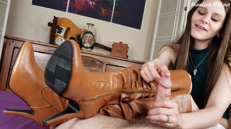 Boot Fetish HandJob From Your Sexy Sister - Katy Faerys Forbidden Fetish Films