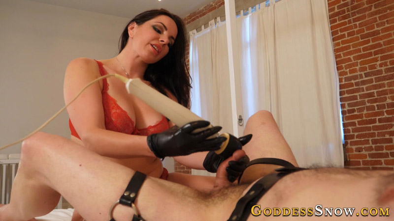 Exhausted Cock – Goddess Alexandra Snow