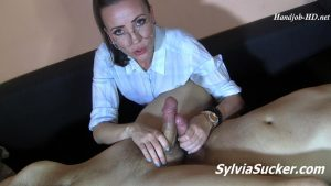 Guys! I just want your jizz! Total Angle – Sylvia Chrystall