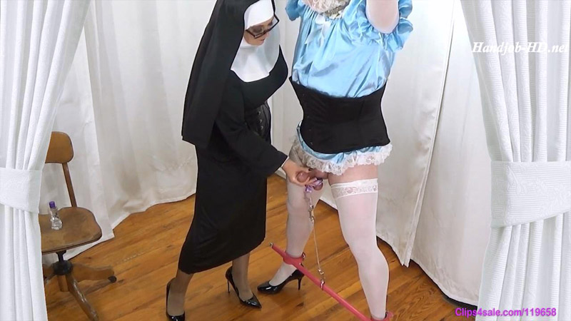 Sinful Sissy Cream Extraction - Forced By Mommy