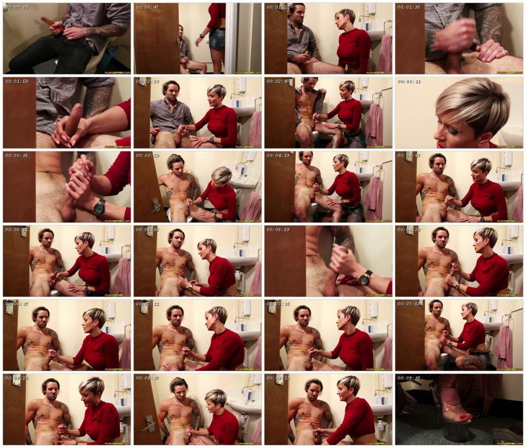 Broken Toilet Lock – Pure CFNM – Tanya Virago_scrlist