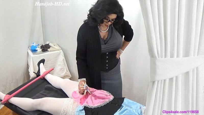 Nightly Ruined Sissy Cream Milking - Forced By Mommy