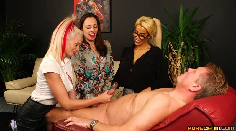 Plenty To Go Around – Pure CFNM – Abigail Angel, Alice Judge, Cindy Sun