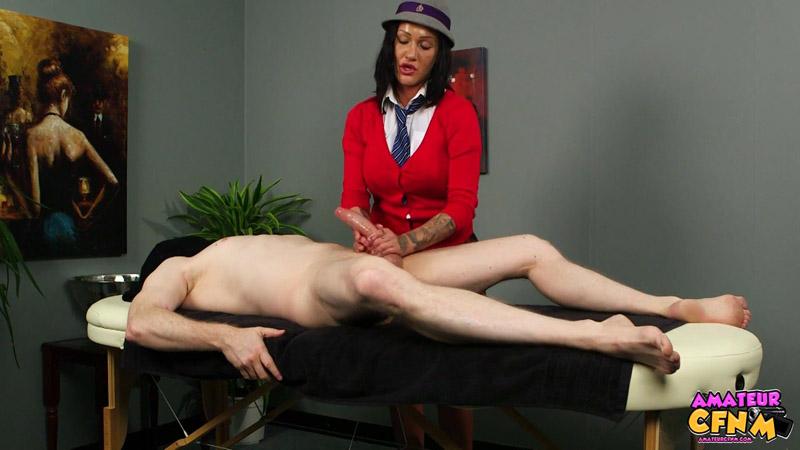 College Massage – Amateur CFNM – Chantelle Fox