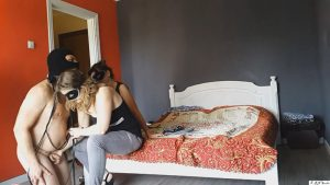 FFM session #17 Spanking+handjob – KRN studio femdom