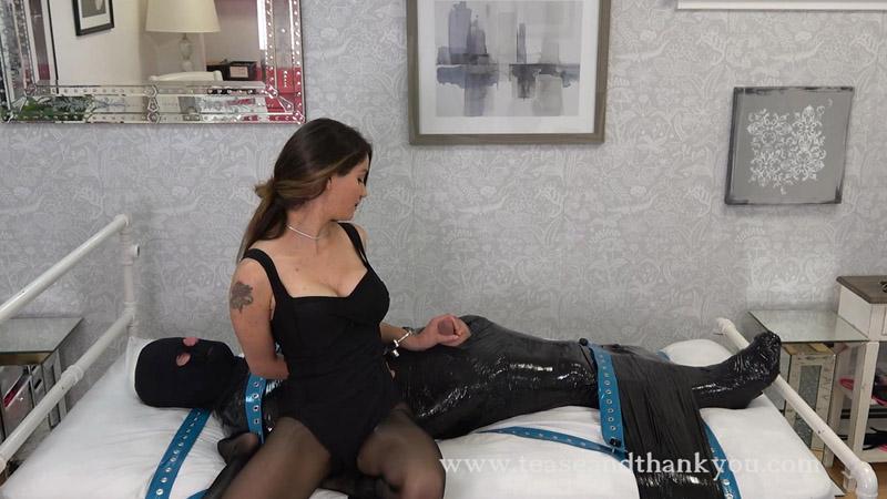 Kat Handcuff Handjob - Kat Turner