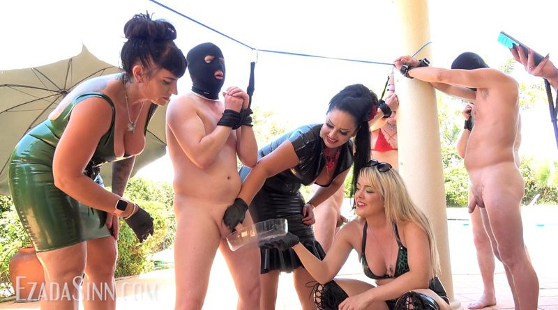 Milking contest at the Femdom Summer Camp 2019 – Mistress Ezada Sinn