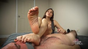 Sadie – reprogrammed for my Stinky size 10 soles – Bratty Foot Girls – Sadie Holmes