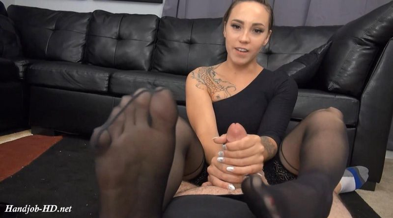 Sasha's Foot Smelling Handjob – Foxxx Studios – Sasha Foxxx