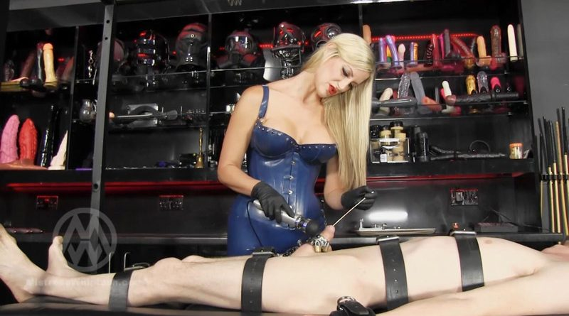 Urethral Sound Training WL1461 – Mistress Nikki Whiplash