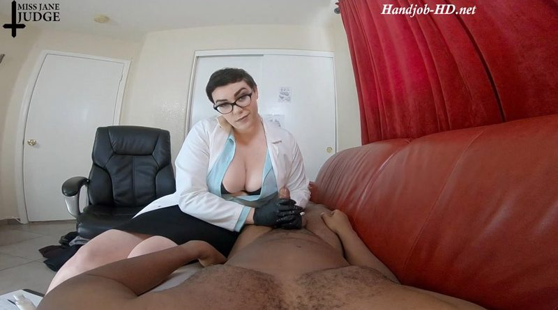Femdom Doctor Handjob POV – Miss Jane Judge