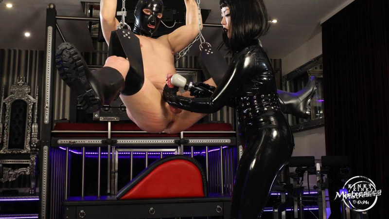 Fisted And Milked By Miss Patricia – Kinky Mistresses