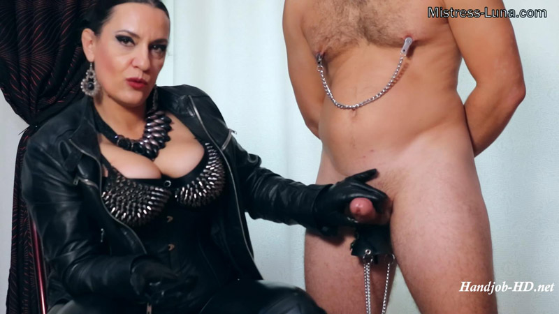 His first ruined orgasm - Mistress Luna
