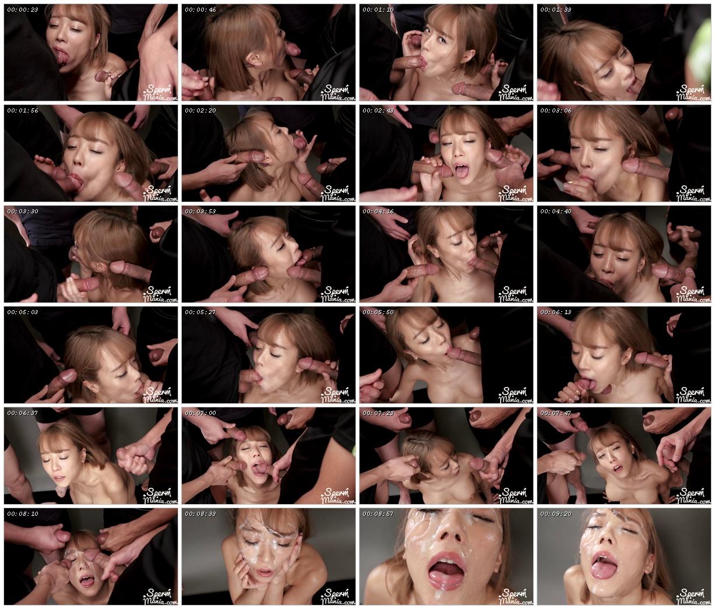 Nanako Nanahara's Sticky Bukkake Facial - Sperm Mania_scrlist