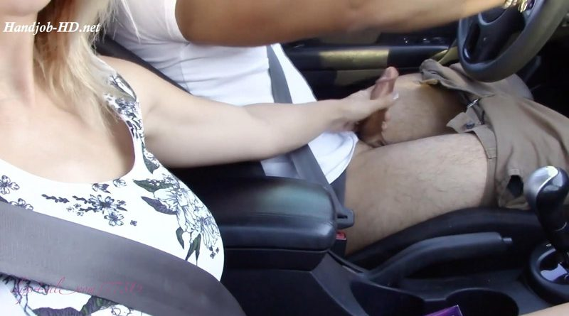 RoadHandjob Worth the Risk – Goddess Alexa