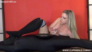 Sock Smelling Spandex Slave – Tickling-Handjobs-Female Orgasm – Jessica Taylor