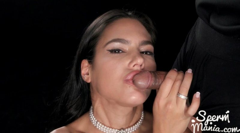 Apolonia Lapiedra Sucks A Bunch of Dicks with Cum in Her Mouth – Sperm Mania