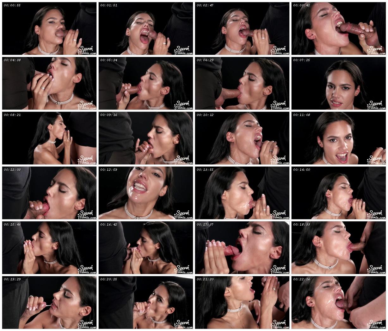 Apolonia Lapiedra Sucks A Bunch of Dicks with Cum in Her Mouth - Sperm Mania_scrlist