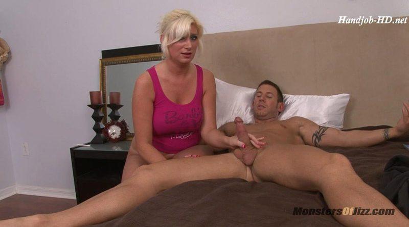 Big Blonde Deepthroats Cock and Eats Cum!!! – Monsters Of Jizz