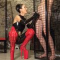 Caged Male Milking Meat – Queens Of Kink