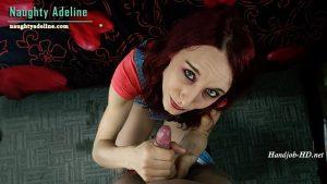 Cheating on your wife – POV Handjob – Naughty Adeline