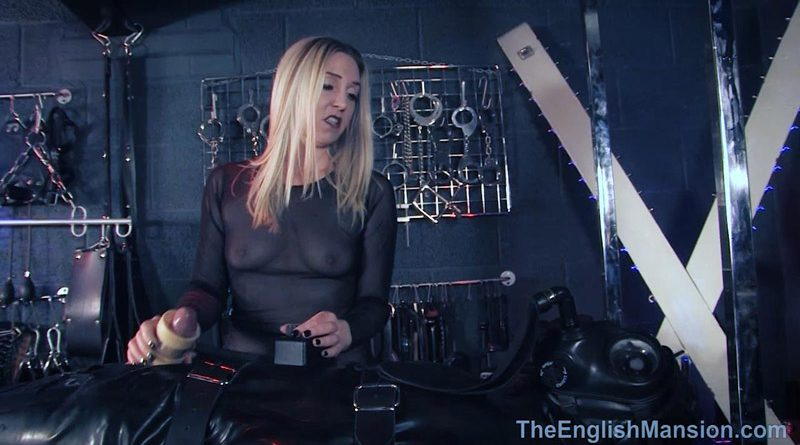 Milking Machine Rebreathe – The English Mansion – Mistress Sidonia