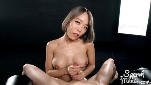 Nanako Nanahara Jerks Off Cock with Cum – Sperm Mania