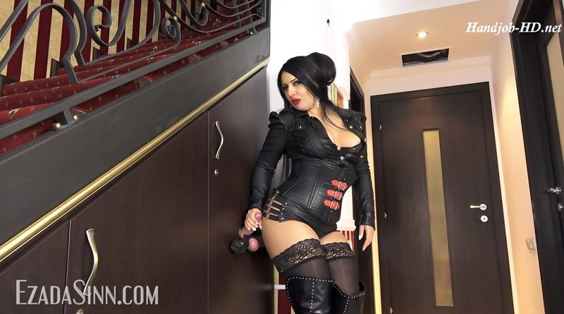 Trapped and drained in the glory hole – Mistress Ezada Sinn