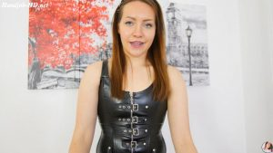 Leather Dominatrix – Humiliating HandJob – MissMilaRose