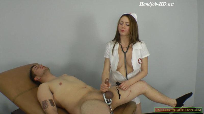 Nurse Castrix – Ballbustin' & Foot Lovin' – Megan Loxx