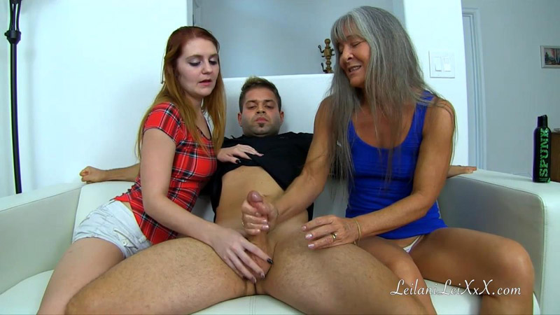 Stroking Young Dick With My Step-Daughter - Aglaea Productions - Desiree Audri, Leilani Lei