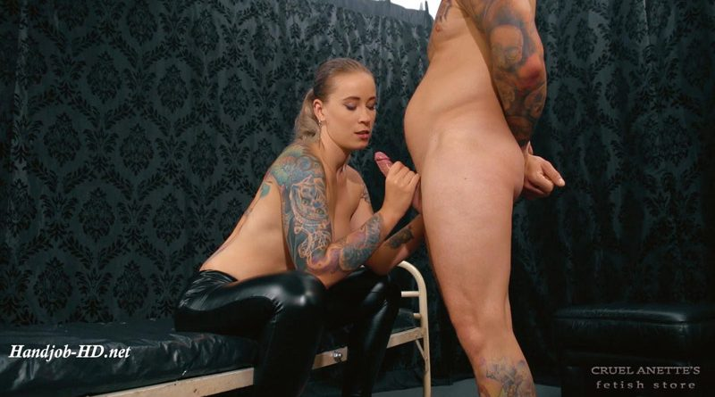 Sucking and cum on breast – Cruel Anettes Fetish Store
