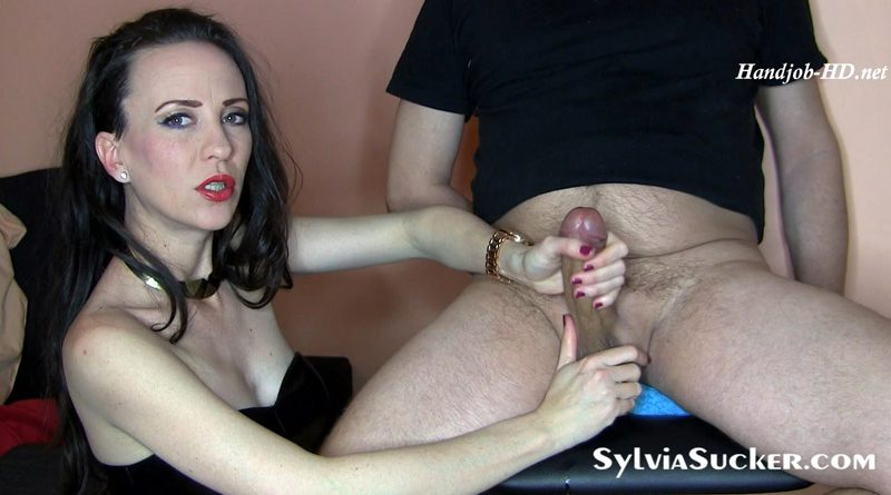 The Pure Art of Edging Reacharound Handjob with Glamorous Facial Cumplaster! – Sylvia Chrystall
