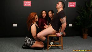 Use Me Booth – Pure CFNM – Carly G, Mandy Foxxx, Tindra Frost
