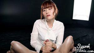 Mizuki's Cummy Handjob – Sperm Mania