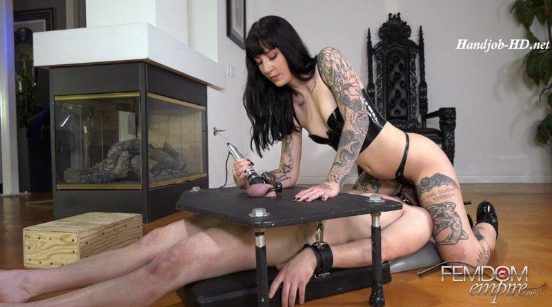 Chastity Slut Orgasms – Femdom Empire – Goth Charlotte