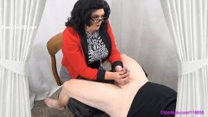 Dry Heave Handjob – Forced By Step-Mommy