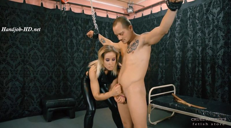 Left there with hard cock – Cruel Anettes Fetish Store